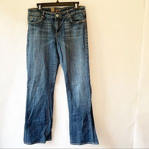Kut from the Kloth Mid-Rise Denim Jeans 12